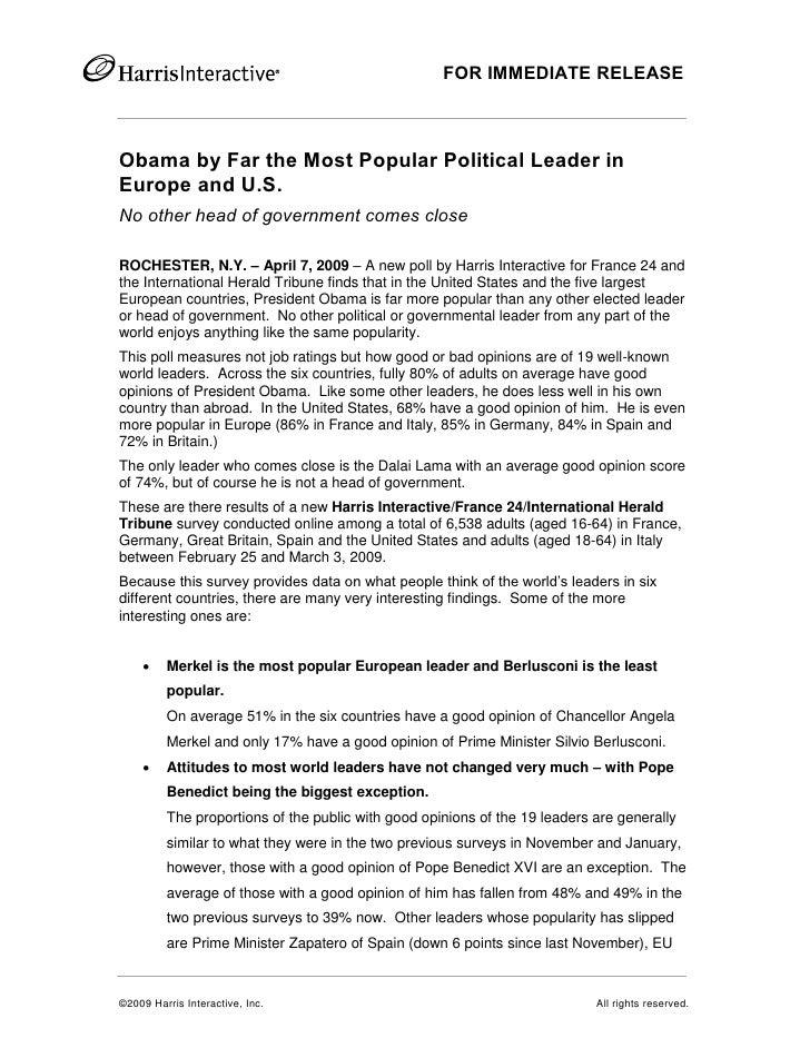 Hi France24 Iht Harris Poll Leaders Barometer April2009