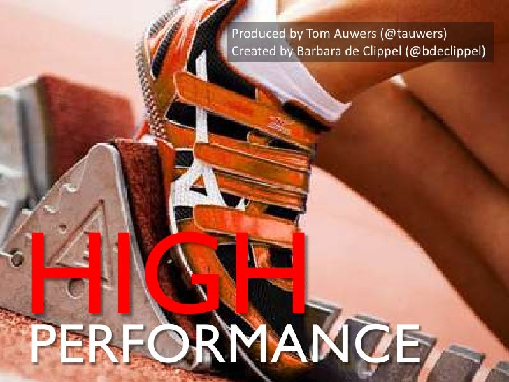 High performance in government