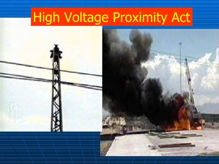 High Voltage Proximity Act National Grid