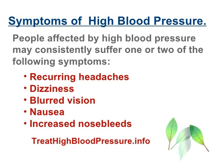 High blood pressure and nosebleeds and headaches : Advil without food