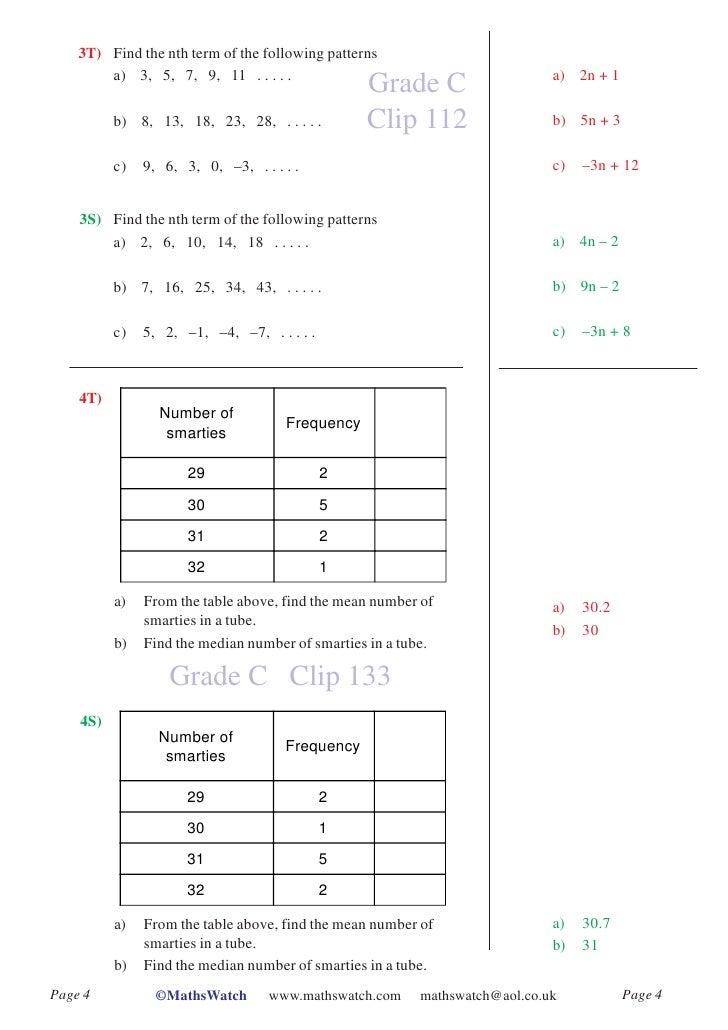 simple inequalities worksheet