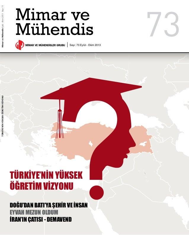 Türkiye'ninYüksekÖğretimVizyonu Türkiye'nin Yüksek Öğretim Vizyonu Doğu'dan Batı'ya Şehir ve İnsan Eyvah Mezun Oldum İran'...