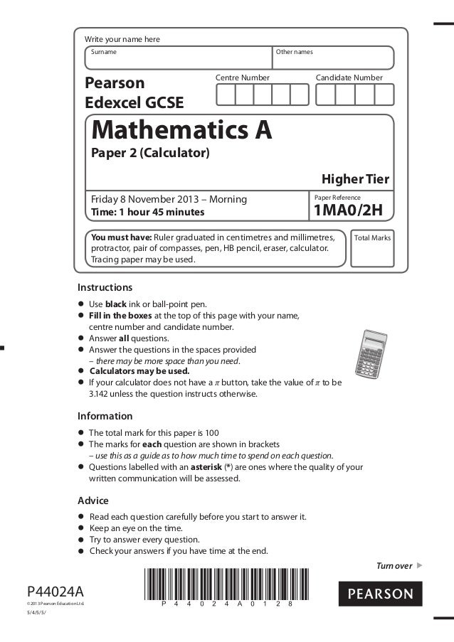 edexcel intermediate maths past papers As-level and a-level maths practice papers here you will find a-level maths practice papers based on the new specification teaching of the new edexcel as and a-level maths specification began in september 2017.