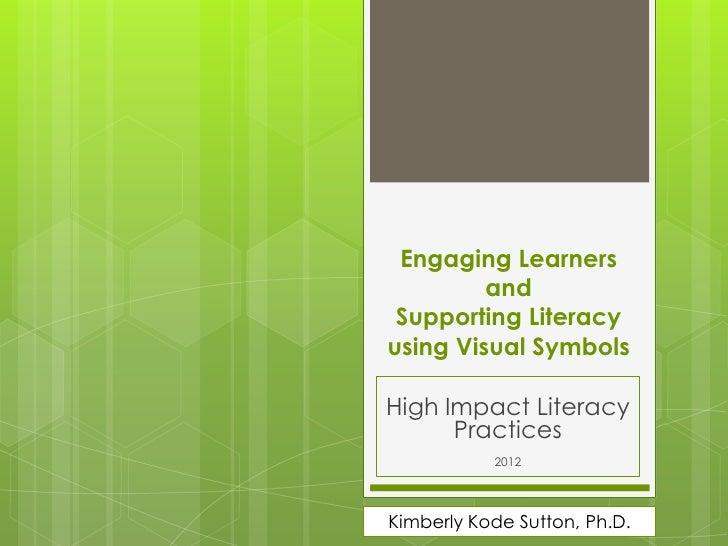 High impact literacy strategies 2012