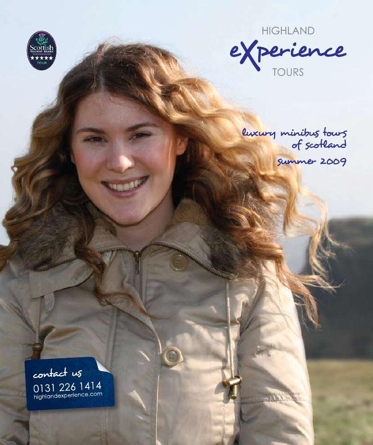 Highland Experience Tour Brochure 2009