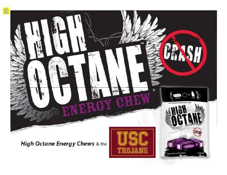 High Octane Energy Chews                    & the