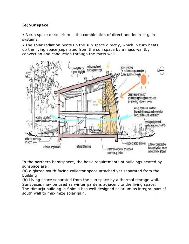Temperate Climate Building Design