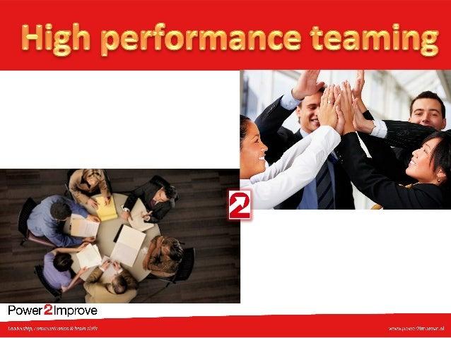 High performance teaming handout