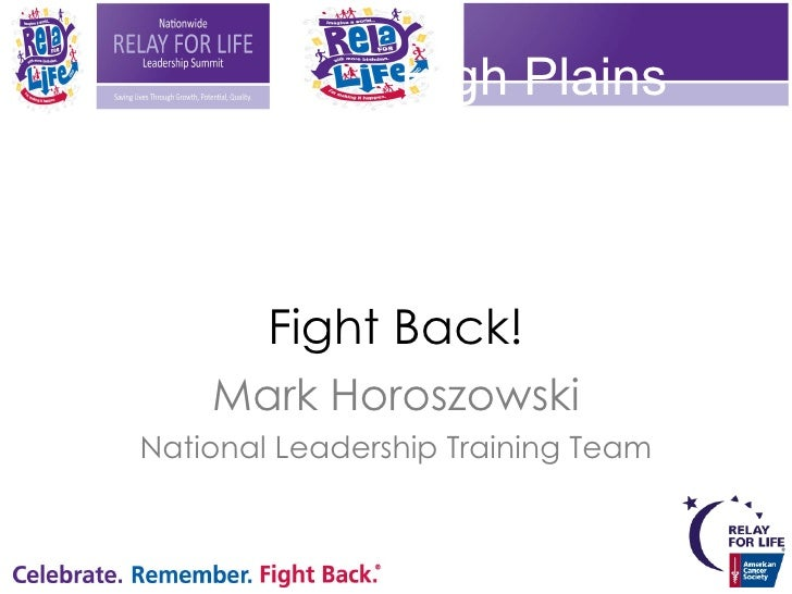 Its time to save MORE LIVES<br />High Plains Leadership Summit<br />Cruising… On The Love Boat<br />Mark Horoszowski<br />...