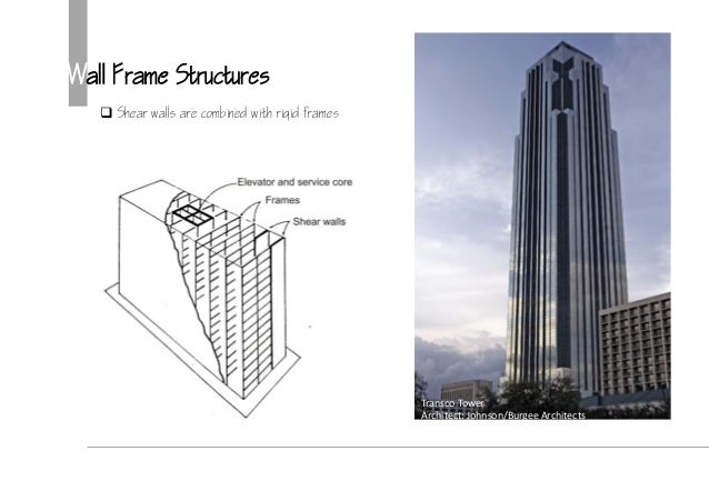 High rise structure & core