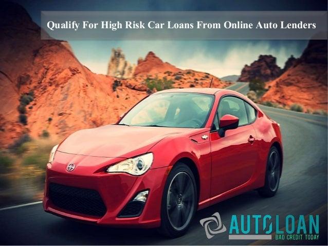 loans for high risk