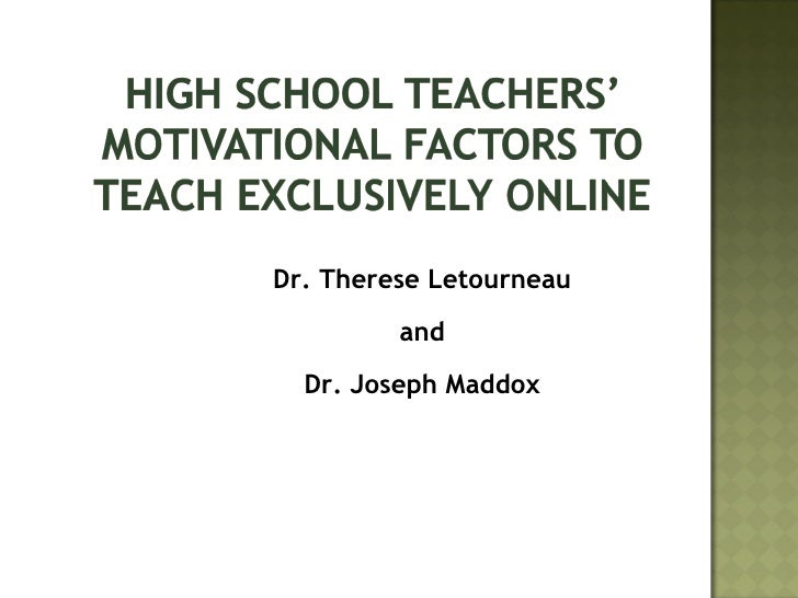 Dr. Therese Letourneau and Dr. Joseph Maddox