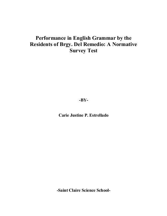 thesis on english grammar Thesis proposal of english education thesis on lack of grammar in the conversational english thesis english educationpdf.