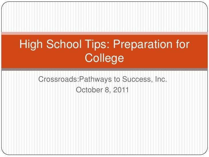 High school tips vol.2