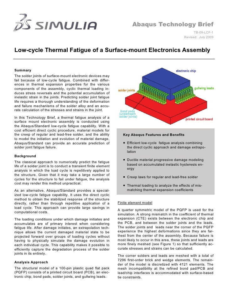 Abaqus Technology Brief                                                                                                   ...