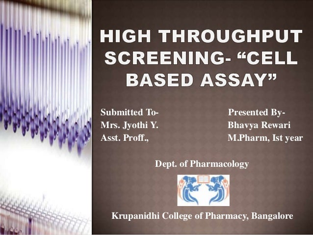 Submitted To- Presented By- Mrs. Jyothi Y. Bhavya Rewari Asst. Proff., M.Pharm, Ist year Dept. of Pharmacology Krupanidhi ...