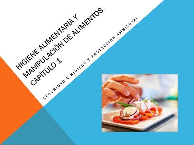 Higiene alimentaria y manipulaci n de alimentos for Higiene y manipulacion de alimentos pdf