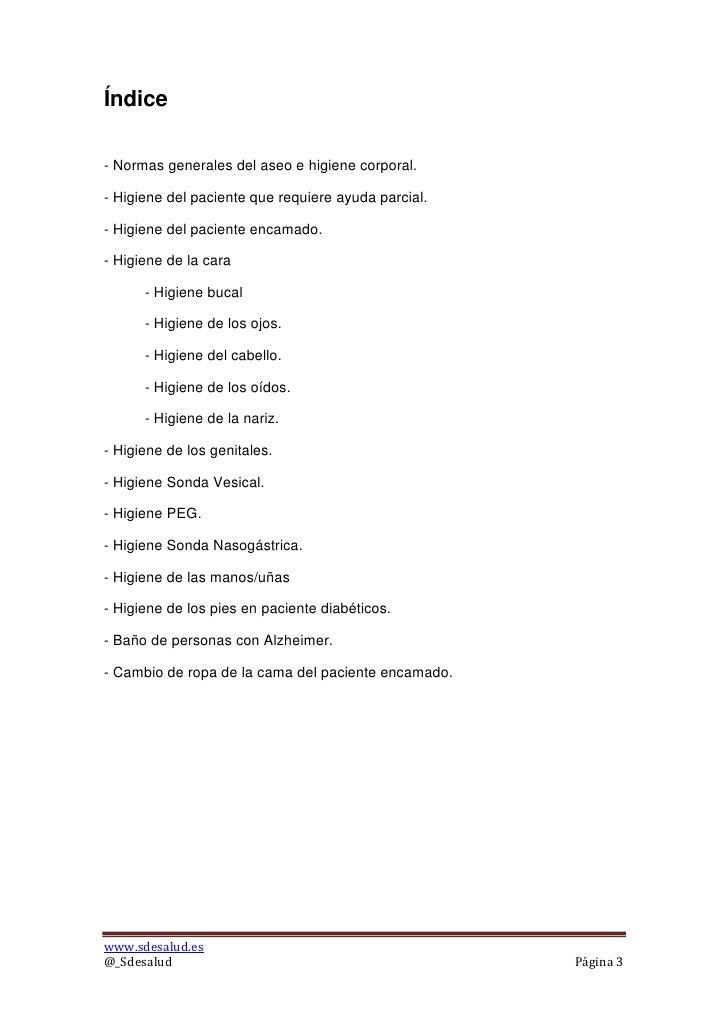 Baño De Regadera Al Paciente:Higiene al paciente inmovilizado