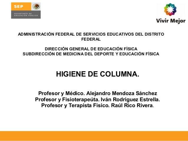 ADMINISTRACIÓN FEDERAL DE SERVICIOS EDUCATIVOS DEL DISTRITO                         FEDERAL         DIRECCIÓN GENERAL DE E...