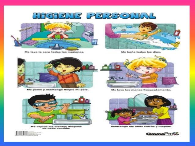 Baño Ninos Frecuencia:Higiene personal