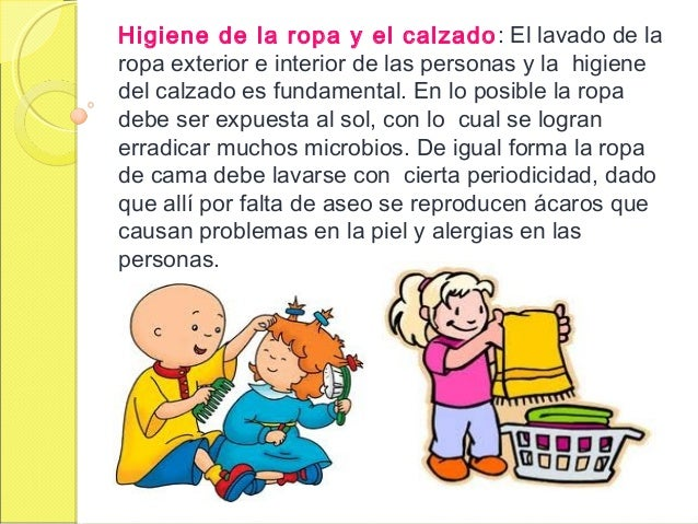 El Baño Cuento Infantil:higiene de la ropa y el calzado el lavado de