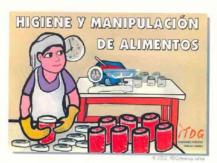 Higiene y manipulaci n de alimentos for Higiene y manipulacion de alimentos pdf