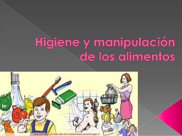Higiene y manipulaci n de los alimentos for Higiene y manipulacion de alimentos pdf