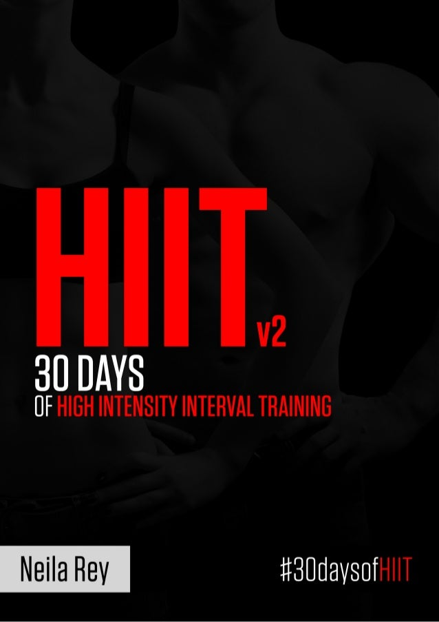 HIITW  30 DAYS  UF HIGH INTENSITY INTERVAL THAININB     Neila Rev #BUUaVSUfHIIT
