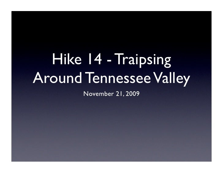 Hike 14 Presentation
