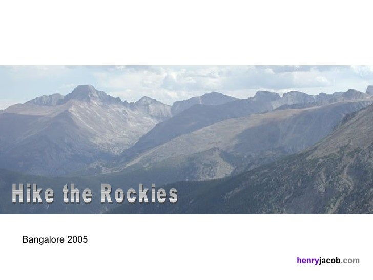 Hike The Rockies