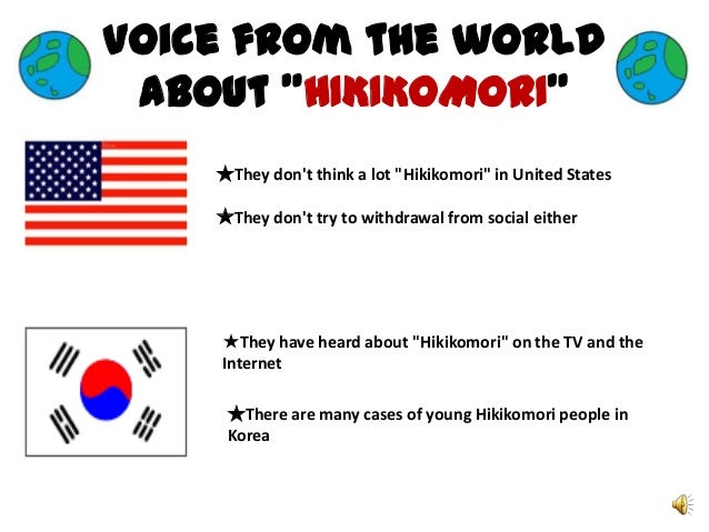 the problem of hikikomori 2018年3月26日 here is a problem, related fundamentally and drastically to the real lives of  hikikomori, that i have been calling wyj: what's-your-job problem.