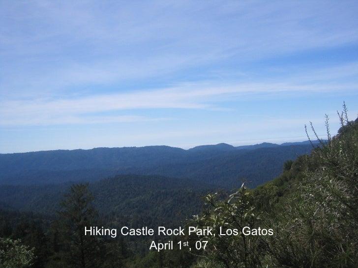 Hiking in Castle Rock Park