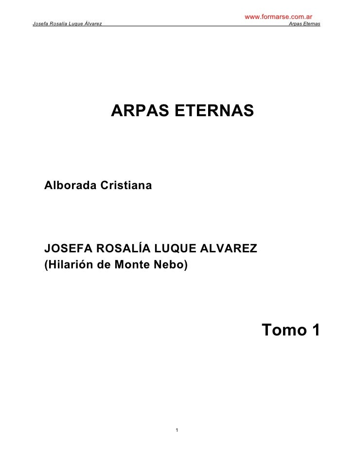 Hilarion De Monte Nebo   Arpas Eternas 1