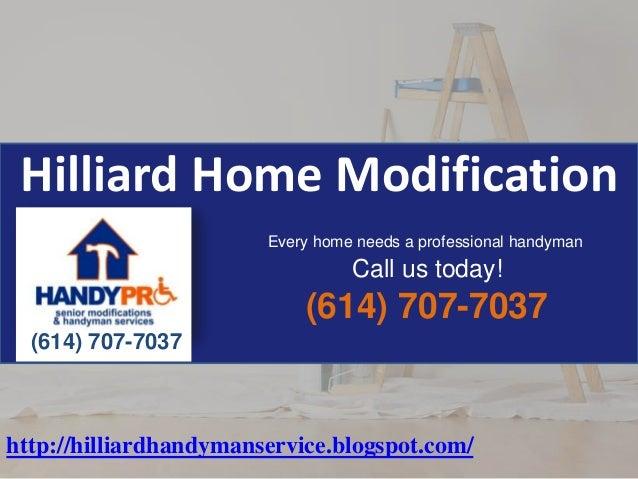 Hilliard Home Modification 614-707-7037
