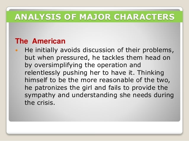 Analysis Thesis Statement