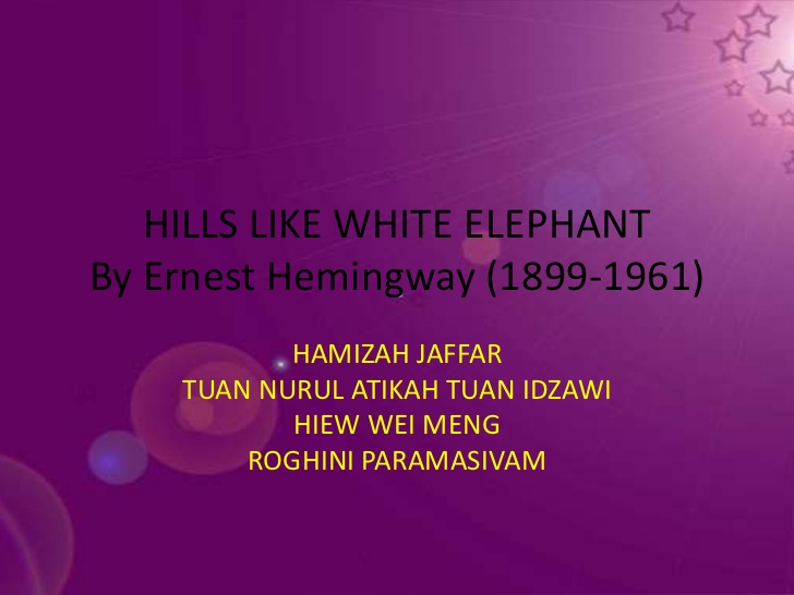 Ernest Hemingway ~ Reflections on Ernest Hemingway | American