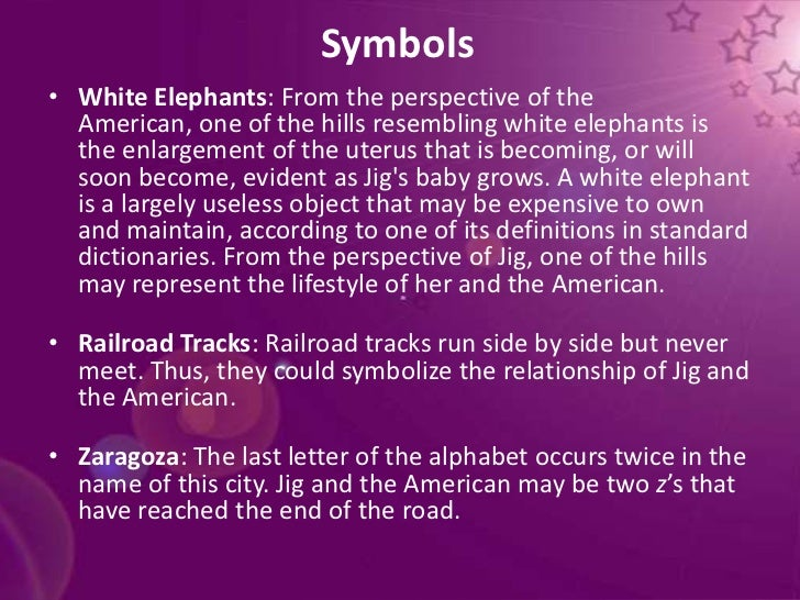 Hills Like White Elephants Essay Symbolism In Literature - image 9