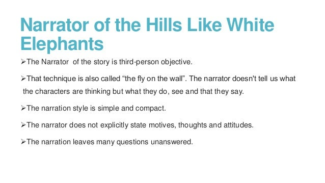Write my hills like white elephants research paper