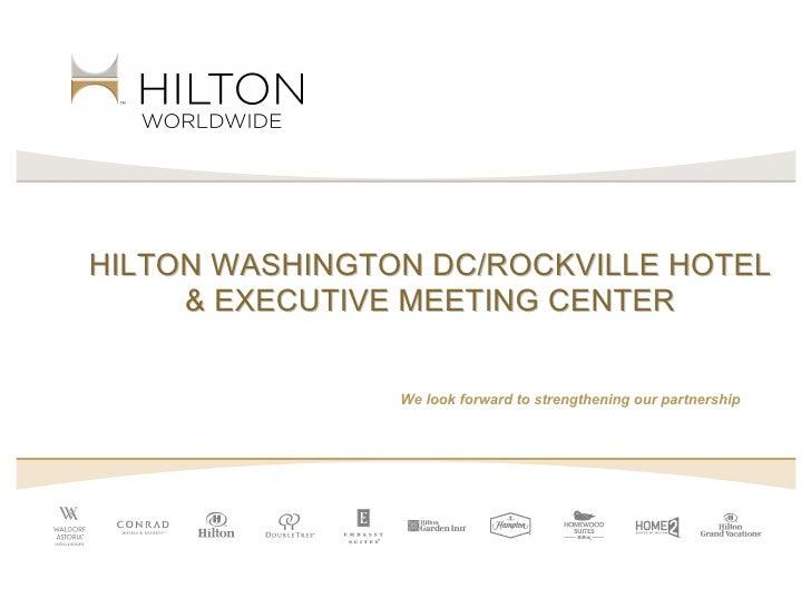 Hilton Washington DC/ Rockville Hotel and Executive Meeting Center