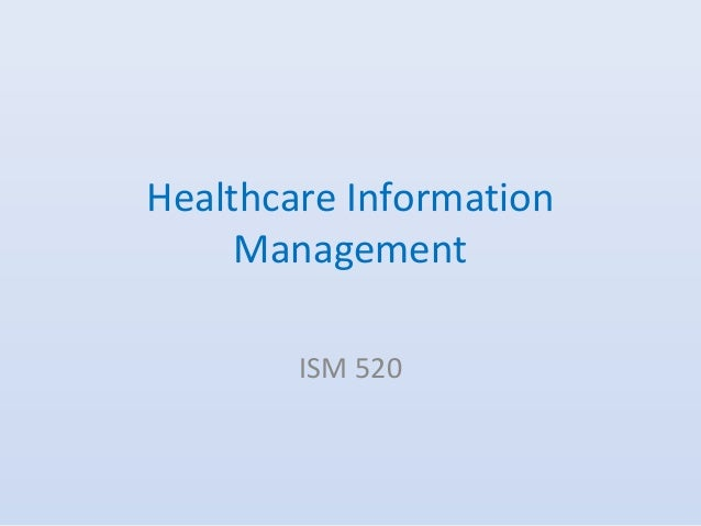 Healthcare Information Management