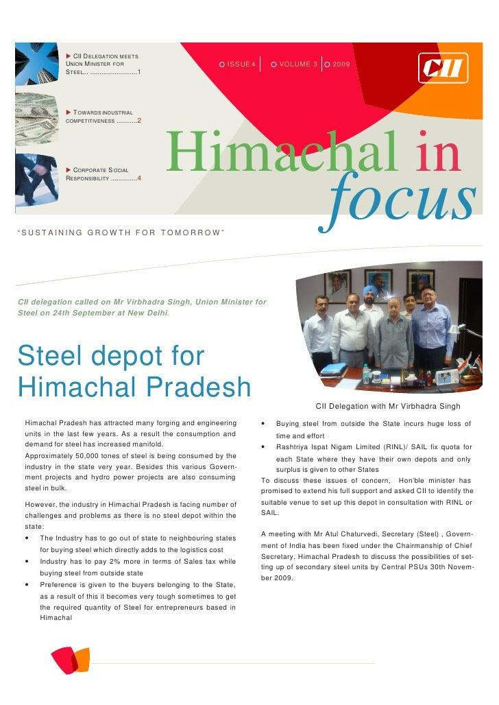 Himachal In Focus Nov 09