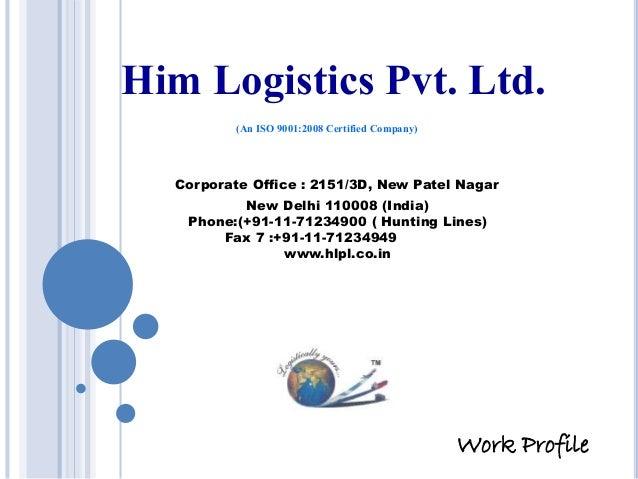 Him Logistic... Reverse Logistics Pvt Ltd