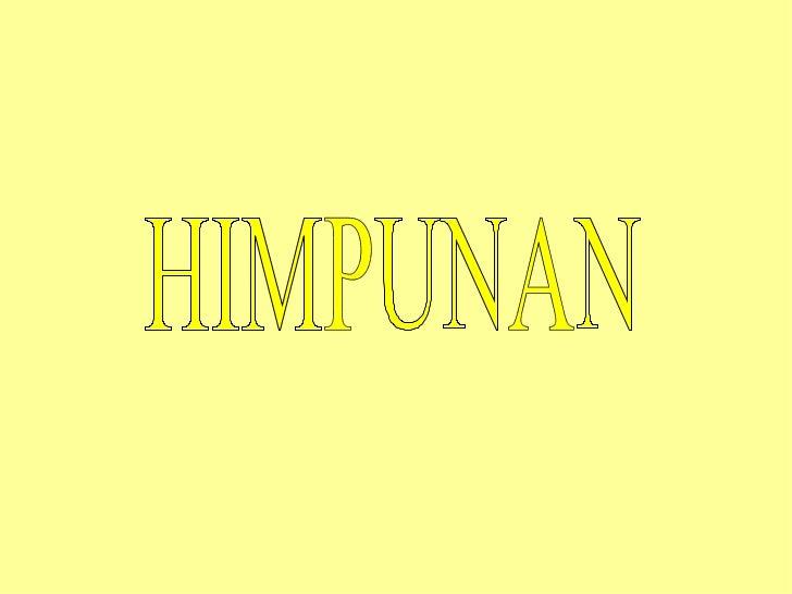 Himpunan 1