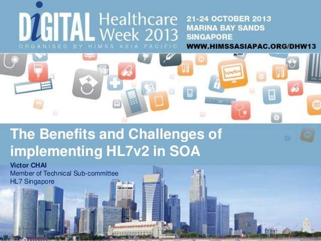 HIMSS Digital Healthcare Week 2013- The journey from HL7v2 to HL7 FHIR