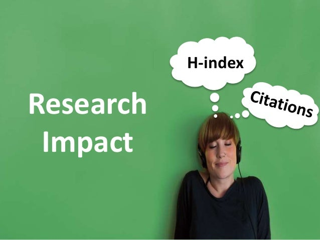 Research Impact H-index
