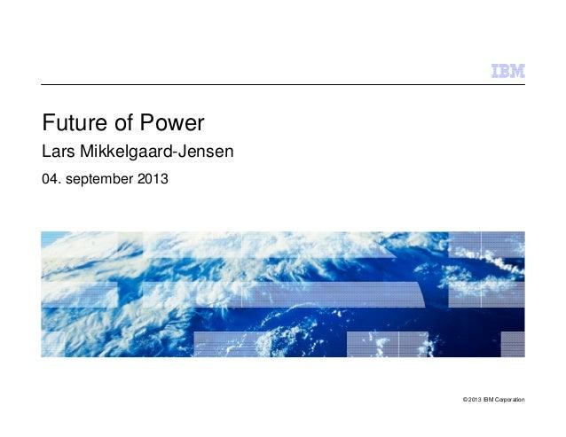 Future of Power - Lars Mikkelgaard-Jensen