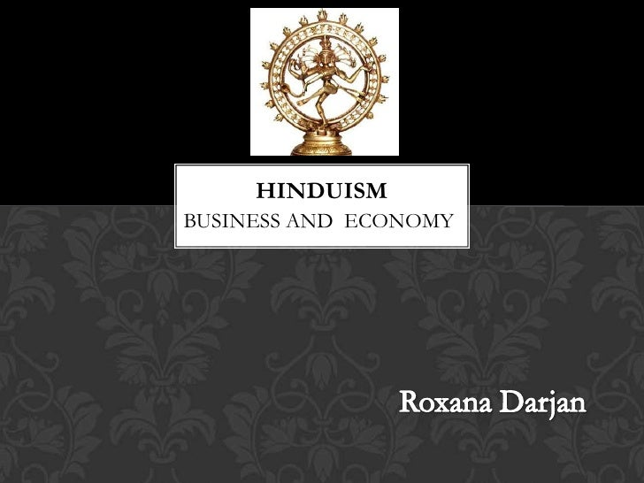 HINDUISMBUSINESS AND ECONOMY
