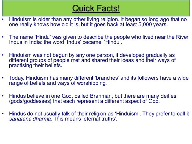 49 Amazing Facts about Hinduism that most Hindus Probably wouldn't know.