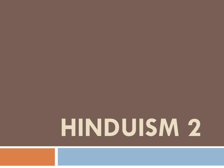 HINDUISM 2