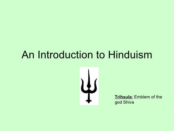 Hinduism Introduction